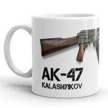 AK-47 Kalasnyikov bögre