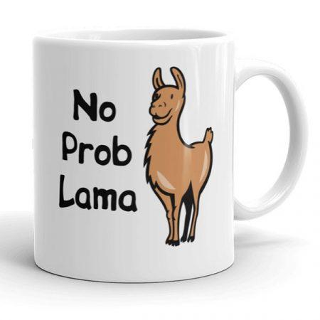 No prob Lama bögre