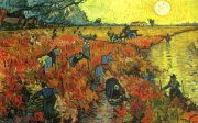 Vincent van Gogh –The Red Vineyard