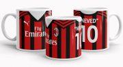 Nevesíthető AC Milan mez bögre