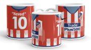 Nevesíthető Atlético Madrid mez bögre