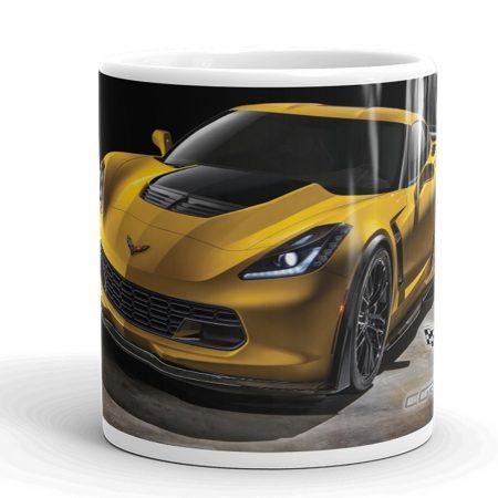 Corvette Z06 autós bögre