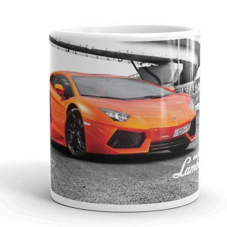 Lamborghini Aventador bögre