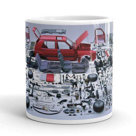 Volkswagen Golf autós bögre