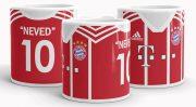 Nevesíthető Bayern München mez bögre