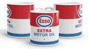 ESSO motor olaj bögre