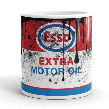 ESSO olajos bögre