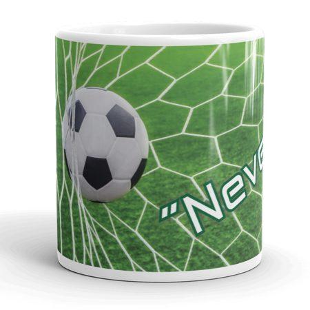 Névre szóló focis bögre
