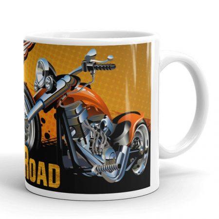 Harley-Davidson motoros bögre