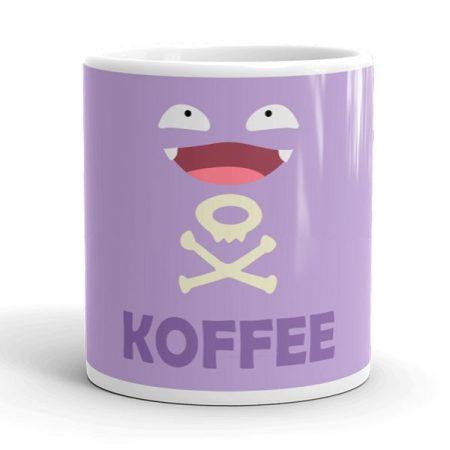 Kávés arc bögre