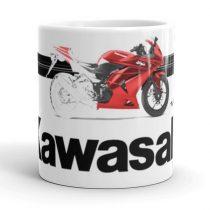 Kawasaki motoros bögre