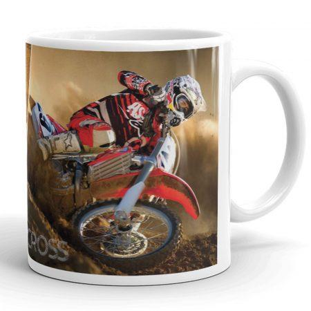 Motocross bögre