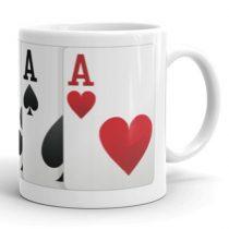 Pokeres bögre
