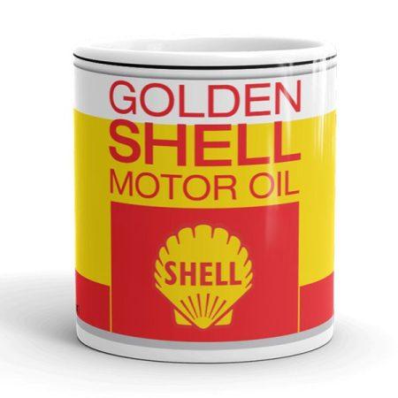Shell motor olaj bögre