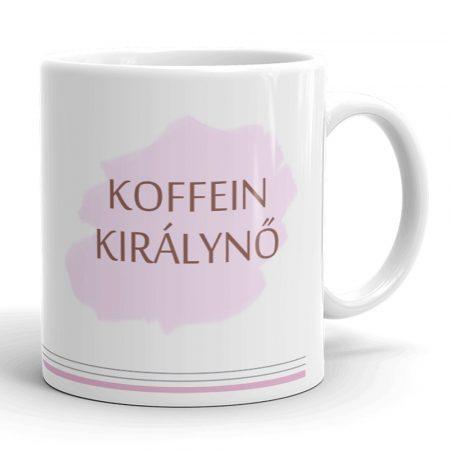 Koffein királynő bögre