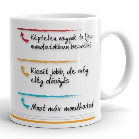 Reggeli kávés bögre