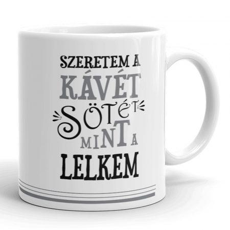 Szeretem a kávét bögre