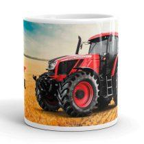 Zetor Crystal traktor  bögre
