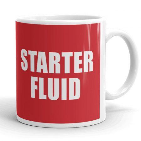 Starter fluid bögre