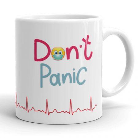 Ne pánikolj, nincs vírus bögre
