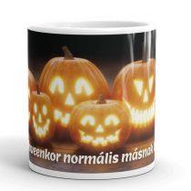 Halloween bögre