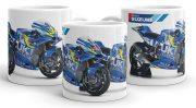 MOTO GP  Suzuki Team bögre