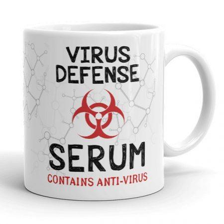 Anti-Vírus bögre
