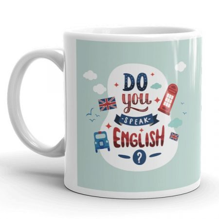 Legjobb angol tanár bögre
