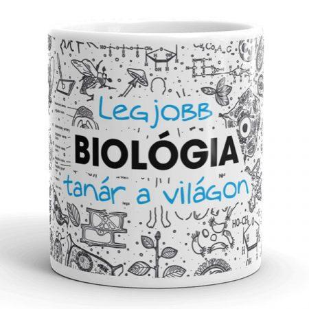 Legjobb biológia tanár bögre