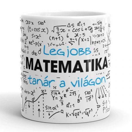 Legjobb matek tanár bögre