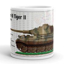 Panzer-VI Tiger II bögre