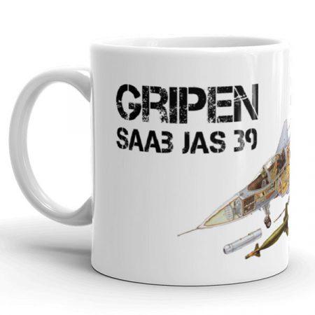 Gripen SAAB JAS-39  bögre