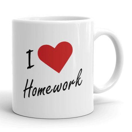 Szeretem az otthoni munkát bögre