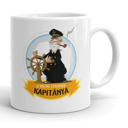 Kapitány bögre
