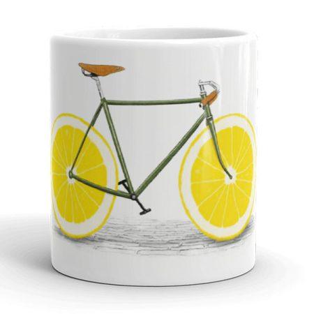 Kerékpáros bögre