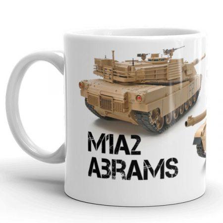 M1A2 Abrams tank bögre