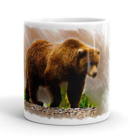 Medvés bögre