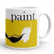 Művész festő bögre